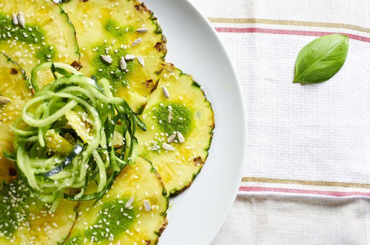 Carpaccio d'ananas #ricetta di @arnataverna