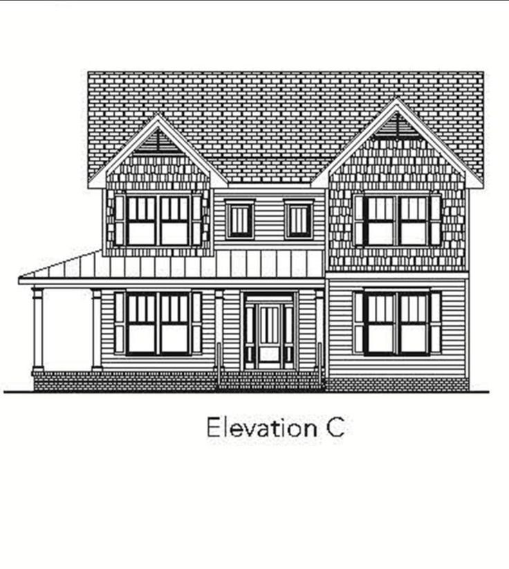 The Charlton House, Anchor Homes - front elevation