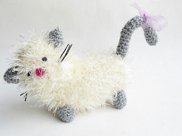 Mejores 86 imágenes de Dogs & Cats Crocheted en Pinterest ...