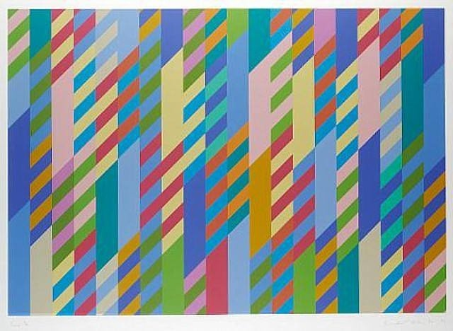 "Bridget Riley ""June"""