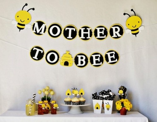 Mother To Bee Baby Shower Black Yellow Bumble Bee Baby Shower Baby Shower  Ideas Baby Shower Images Baby Shower Pictures Baby Shower Photos Bumble Bee  Baby ...