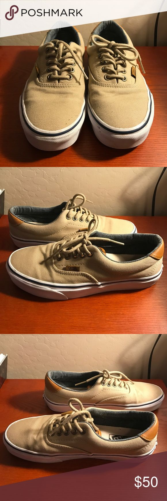 17 best ideas about tan vans womens summer shoes tan and leather vans tan vans leather heel and tongue size 8 true