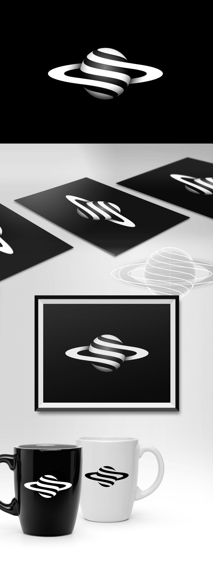 Planet logo on Behance