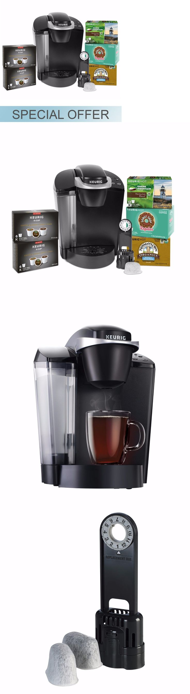 Single Serve Brewers 156775: Keurig K50b Single Serve Coffee Maker With 48 K-Cup Pods -> BUY IT NOW ONLY: $92.06 on eBay!