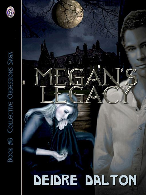 """Megan Larkin falls for dashing attorney Luke Castaneda, a newcomer to Larkin City. Locals try to warn Luke about Megan's family and their history of madness, but he is determined to make her his wife. Other elements are at work to ensure the union never takes place, bringing another veil of evil over Larkin City in the guise of a serial killer. """"Megan's Legacy"""" is the 8th and final book in the Collective Obsessions Saga by Deidre Dalton. http://websdivine.tripod.com/collective/mlegacy.htm"""