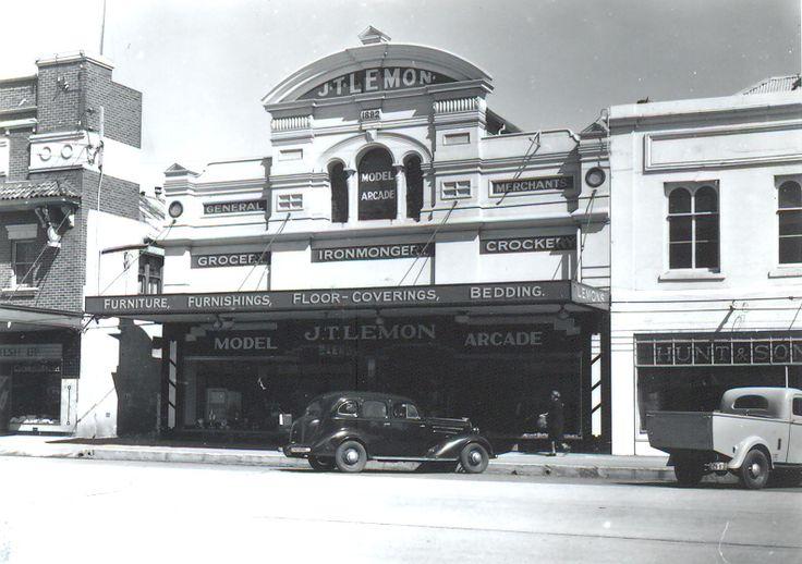 Lemon's Model Arcade 1955 Goulburn NSW