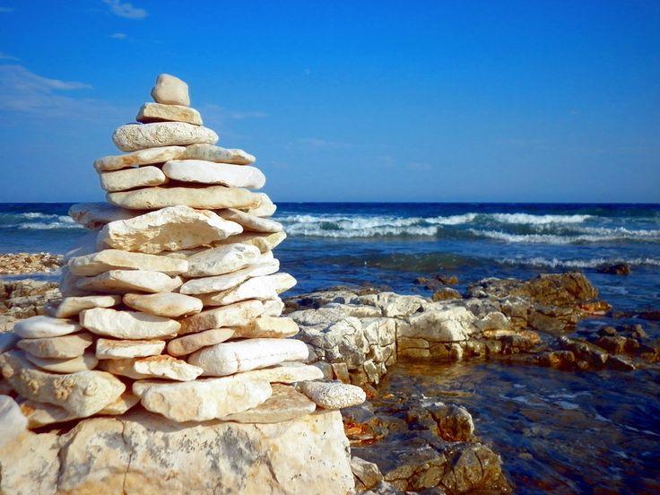 Beach at Kamp Kazela in Medulin. #istria #croatia #vacation #travel