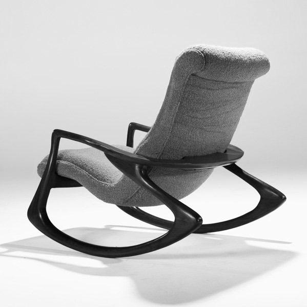 Good Vladimir Kagan Rocking Chair