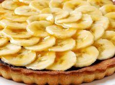 Bananentaart met chocolade (Libelle Lekker!)