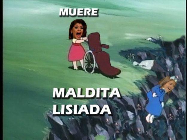 Versión Heidi. | Los 16 mejores memes de Soraya Montenegro
