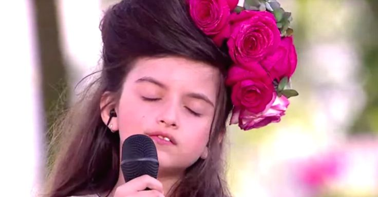 """8-Year-Old Angelina Jordan Sings """"What A Difference A Day Makes"""" via LittleThings.com"""