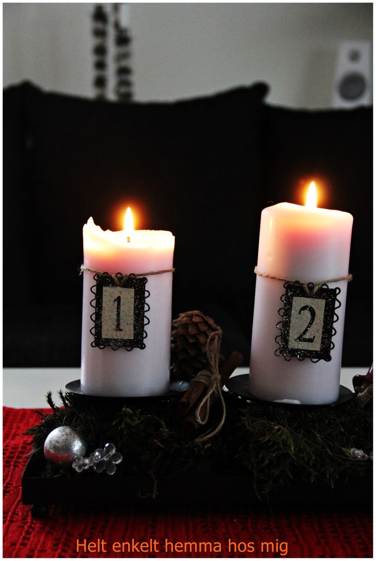 Advent. candle