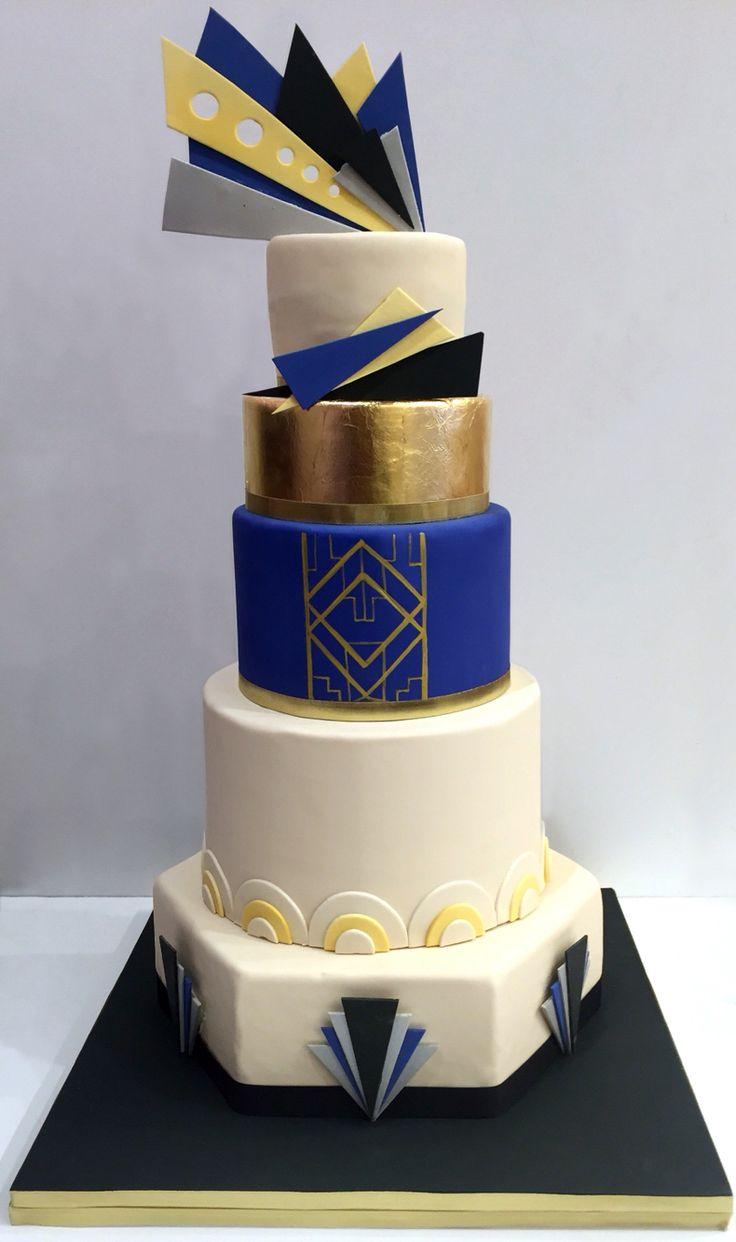 Deco Art Cake Mexicali : Best 25+ Art deco cake ideas on Pinterest Art deco ...
