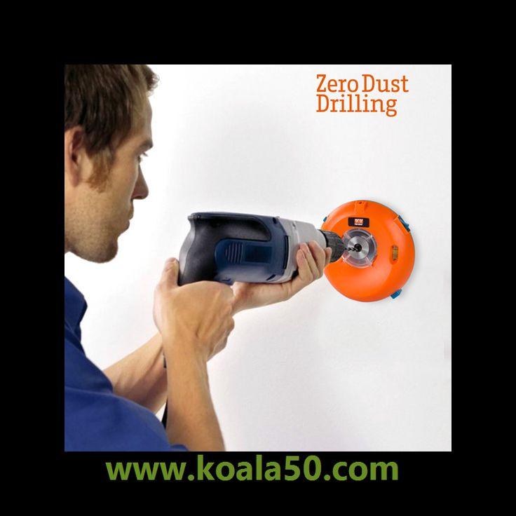 Recogepolvo para Taladros Zero Dust Drilling - 17,23 €   Si ya estás harto de que el momento de hacer un agujero en la pared se convierta en toda una odisea de polvo y de agujeros mal hechos, el recogepolvo para taladros Zero Dust Drilling es la solución...  http://www.koala50.com/mucho-mas-en-teletienda/recogepolvo-para-taladros-zero-dust-drilling