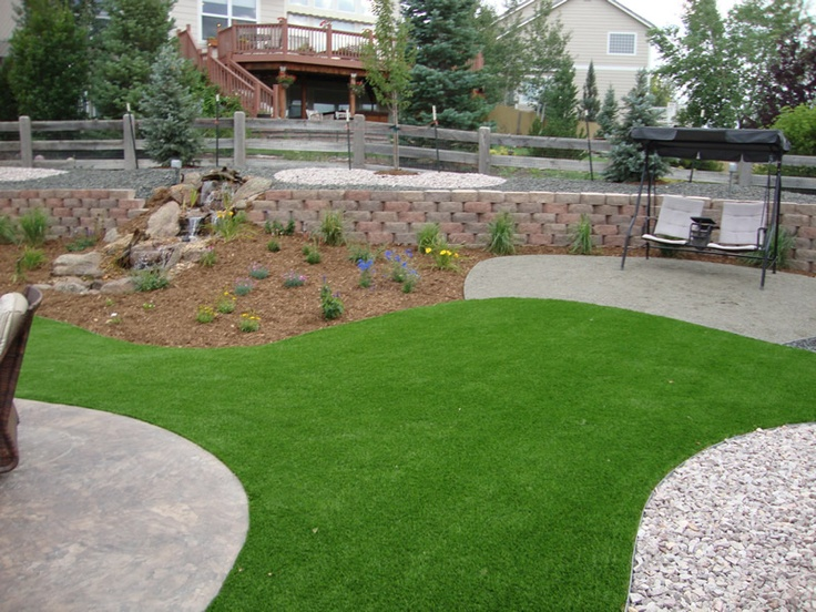 Denver and colorado springs colorado artificial turf sod for Grass design ideas