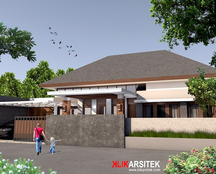 Rumah tropis modern 1 lantai - Lokasi Proyek Jakarta #rumahtropis #rumahminimalis #rumahtropismodern