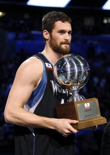Kevin Love, longest shot world record