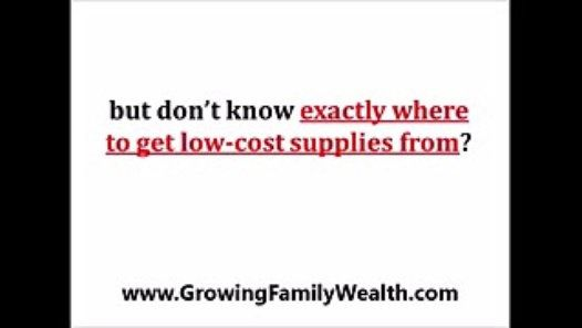 http://www.GrowingFamilyWealth.comLearn how to successfully use Ali Baba for your business step-by-step, click by click, how to successfully leverage Alibaba and sell right on any exchange – be it Amazon, eBay, or Shopify! go tohttp://www.GrowingFamilyWealth.com