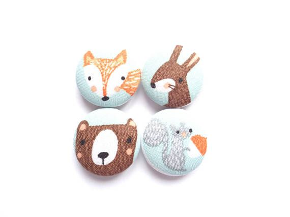Animal Magnets Bear Magnets Fox Magnets Bunny Magnets
