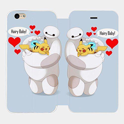 Baymax Hairy Baby Pikachu Custom Flip Cover for Iphone 6 and Iphone 6 Plus (Flip Cover iPhone 6 plus) flip cover http://www.amazon.com/dp/B00XHMCYCK/ref=cm_sw_r_pi_dp_C6bxvb00K8TQM