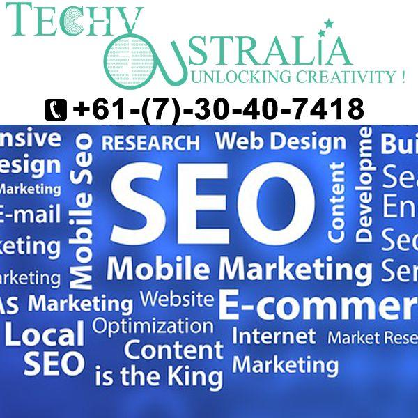 Organic white seo Techy Australia+61-(7)-30-40-7418