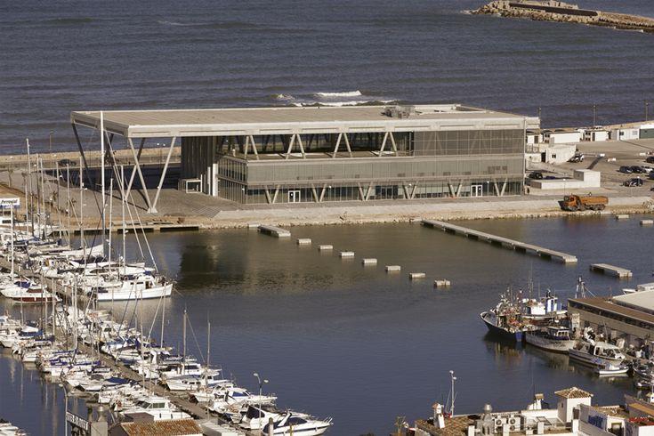La nueva terminal de pasajeros de Denia se basa en un diseño que a nivel mecánico cons
