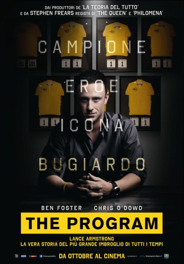 The Program: in esclusiva il poster italiano ufficiale del film di Stephen Frears