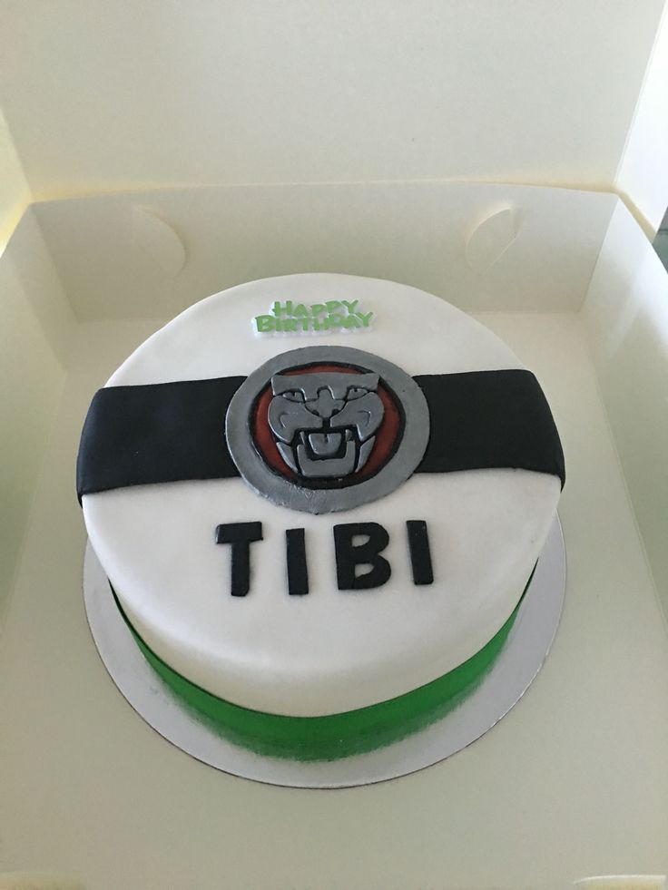 My first cake... Was meant to be a jaguar car badge