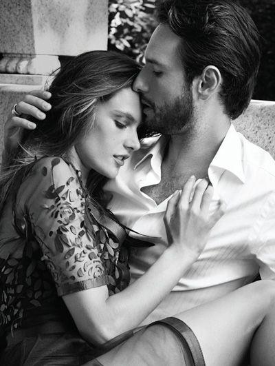 Alessandra Ambrósio e Rodrigo Santoro - Vogue