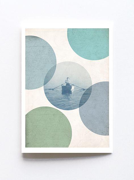 Greeting card by Sophie Klerk, 'peaceful'