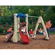 Little Tikes Lookout Plastic Swing Set