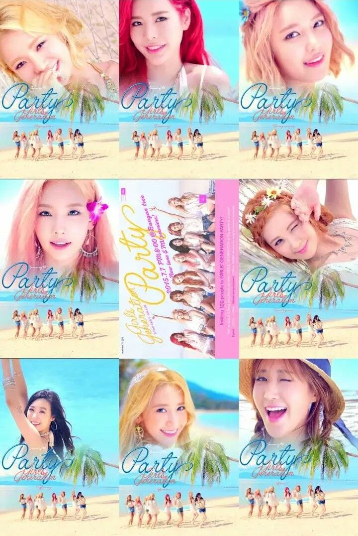 Snsd , GG , Girls' generation party
