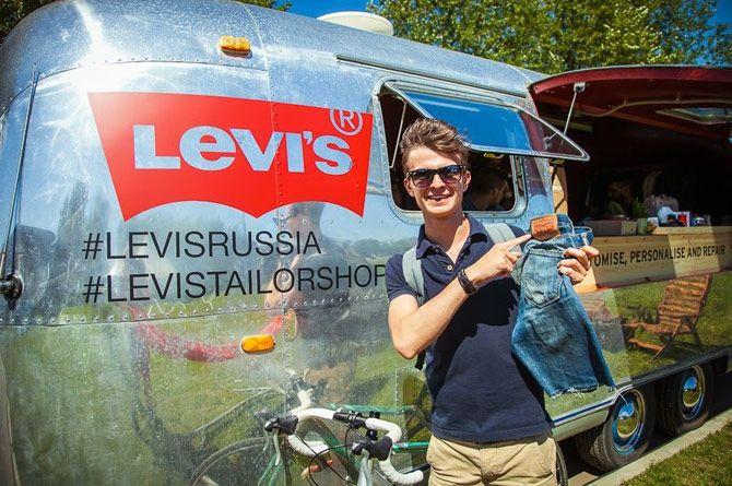Изготовление фирменного трейлера LEVI'S