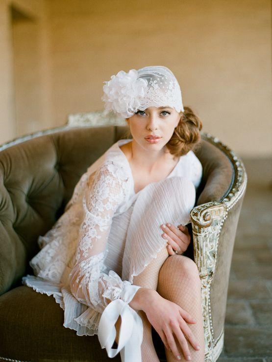 <3: Old Style, Lace Wedding Dresses, Wedding Photography, Bridesmaid Hair, Vintage Wedding Dresses, Elizabeth Messina, Vintage Hats, 20S Style, The Dresses
