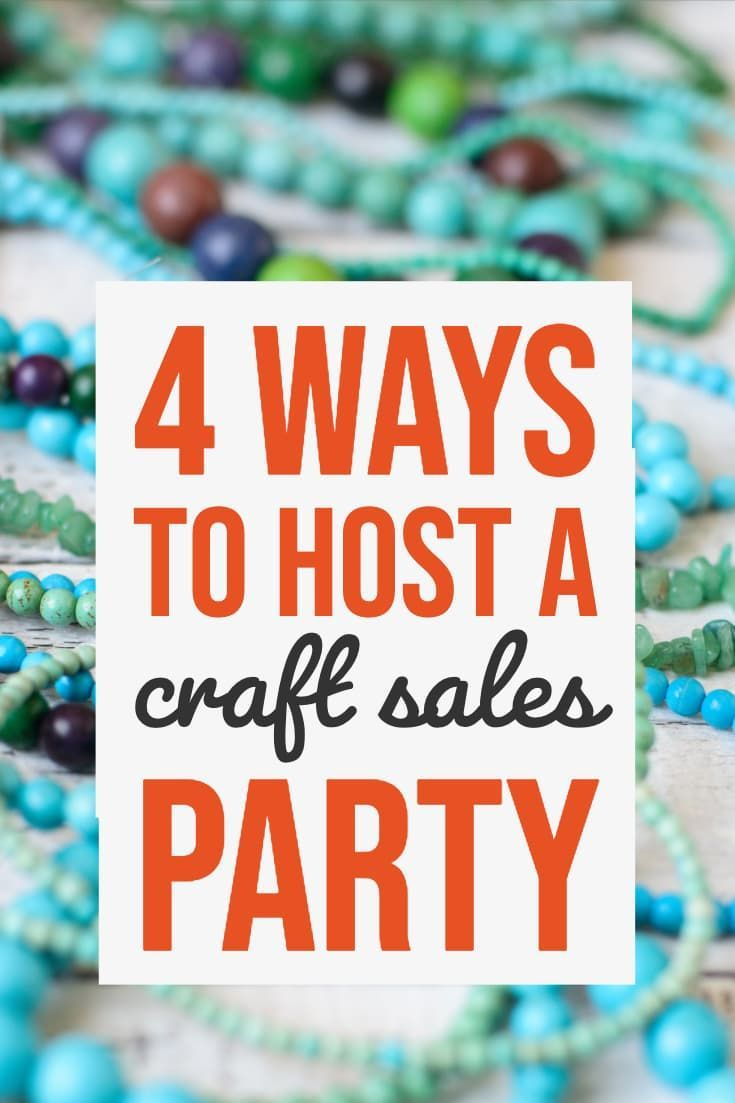 4 Home Party Ideas Selling Crafts Online House Party Creative Business Marketing