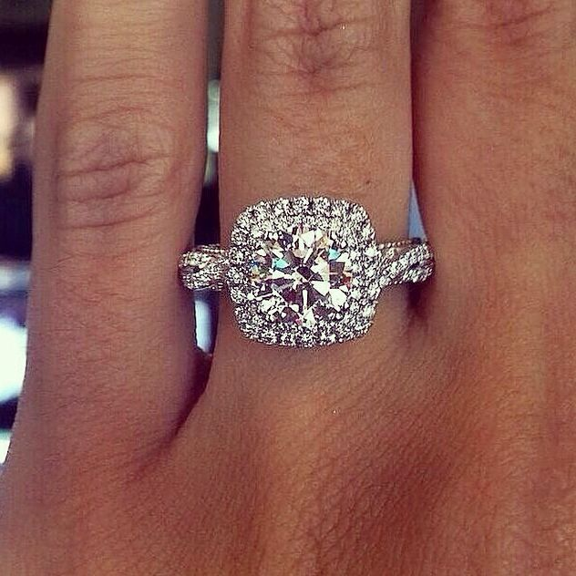 49 best Wedding rings images on Pinterest Engagements Engagement
