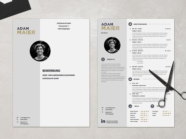 Bewerbung Muster Professionelle Design Vorlagen Bewerbung Amelio