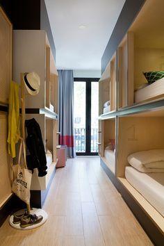 toc hostel en barcelona de gca arquitectos