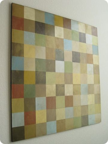 make this with paint chips!