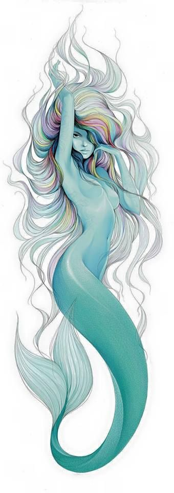 MERMAID # 8018