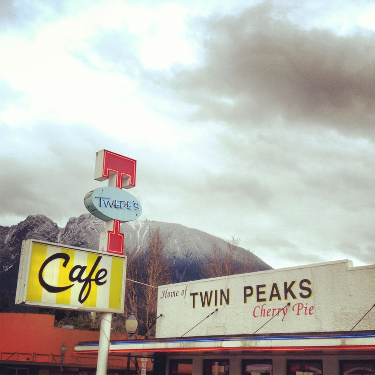 Twede's Cafe in Snoqualmie for a slice of Twin Peaks cherry pie and a fine cup of coffee