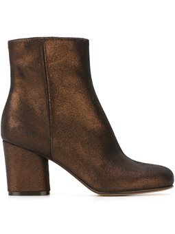 metallic ankle boots Maison Margiela