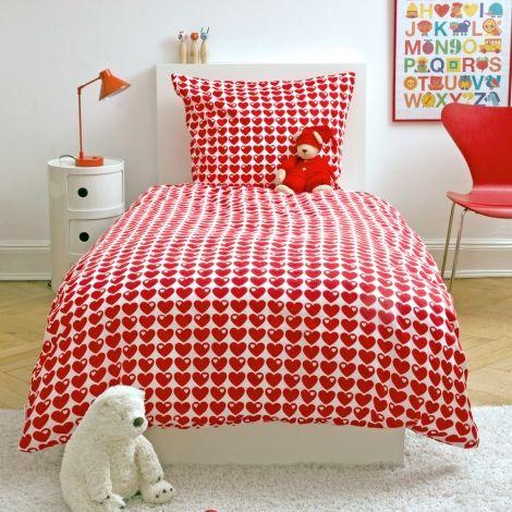 Hearts #bedding Set #red #heart By @byGraziela #Scandi #modern #