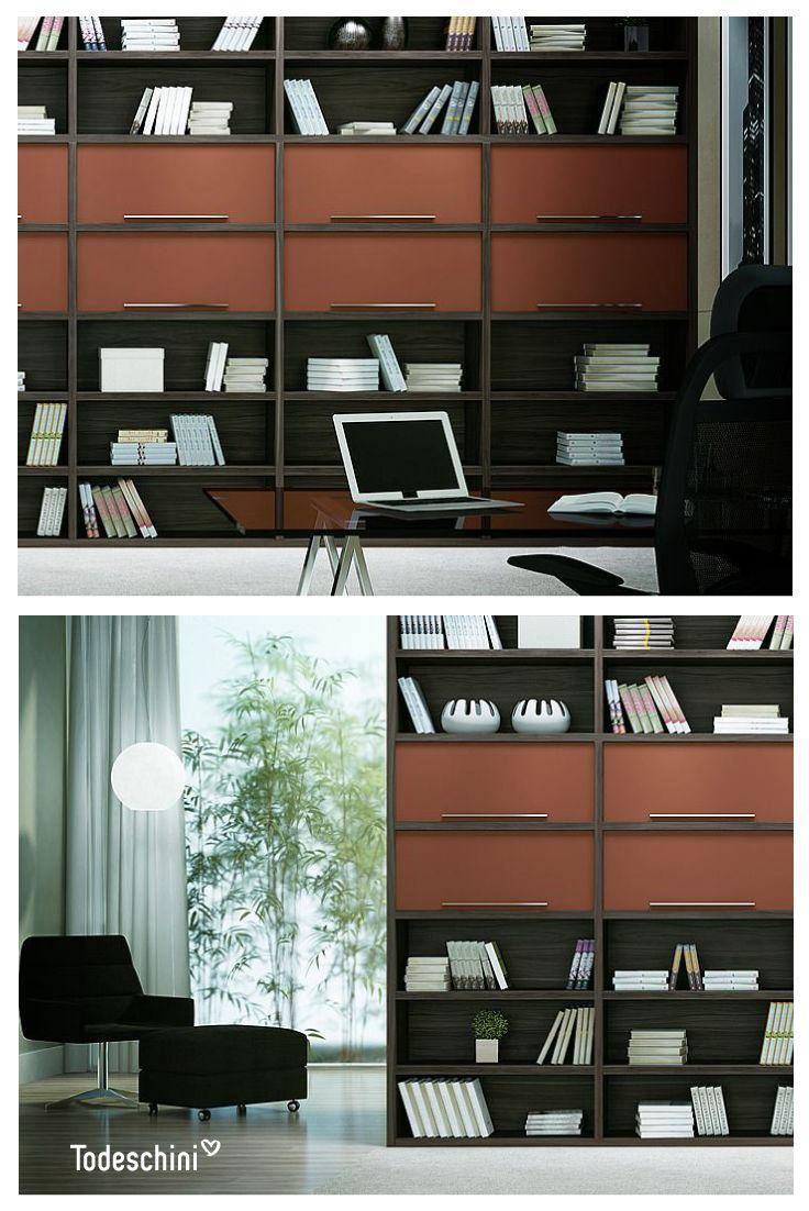 Creamos espacios sofisticados para que tu trabajo sea un deleite diario. #Diseñodeinteriores #Decoración #Todeschini #ambientes #mueblesamedida #arquitectura #oficinas