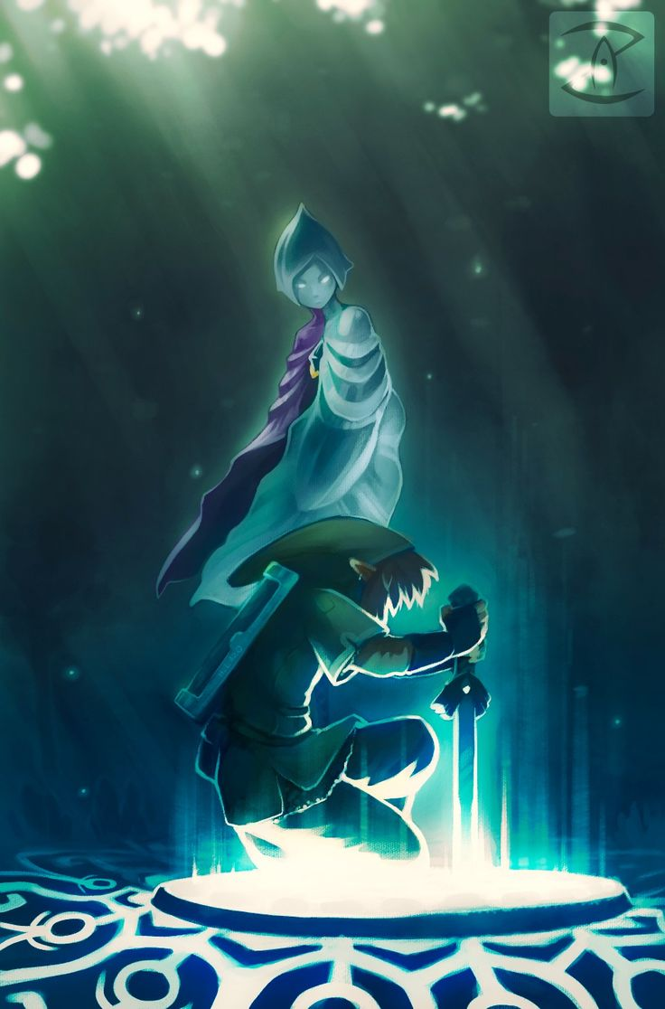 The Legend Of Zelda Skyward Sword Link And Fi Awaiting His Return By Art Zealot On DeviantART