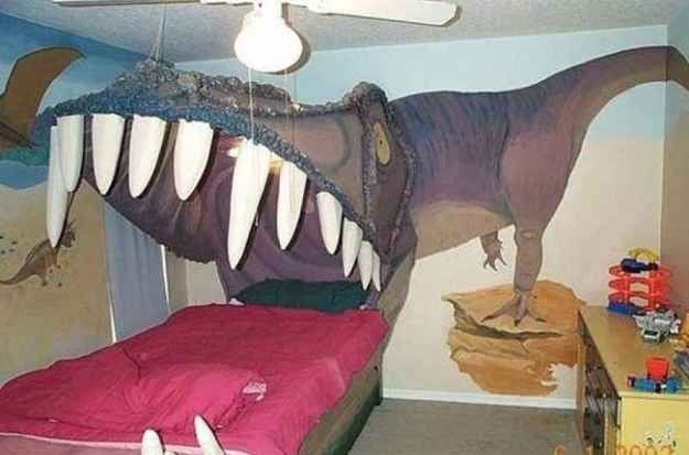 The parents who got this bed for their kid's room.