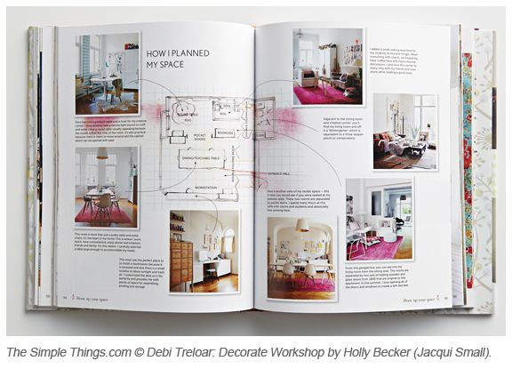 FREE COPY Of Decorate Workshop By Holly Becker If You Subscribe To Simple Things Magazine