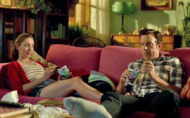 Alison Brie and Jason Sudeikis in Sleeping With Other People