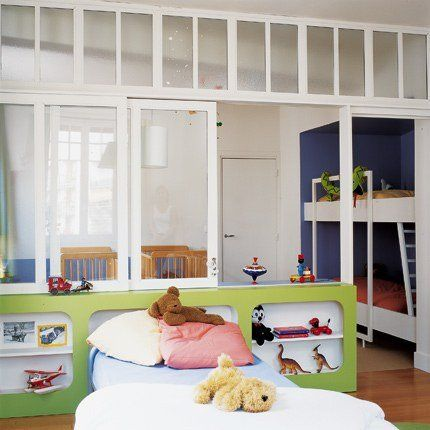 17 meilleures id es propos de chambre partag e enfants. Black Bedroom Furniture Sets. Home Design Ideas