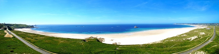 St. Ouen's Bay Panoramic - Andy Le Gresley